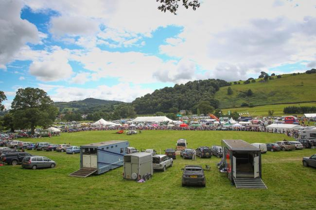 A general view of Llanfyllin Show on Saturday, August 12, 2017.  Pic: Mike Sheridan/County Times MS645-2017-16