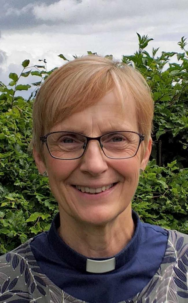 Rev'd Sarah Burton starts in the Vyrnwy Mission Area