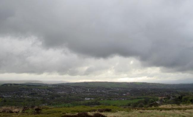 Cloudy views from Scout Road in Bolton by Keith Rylance